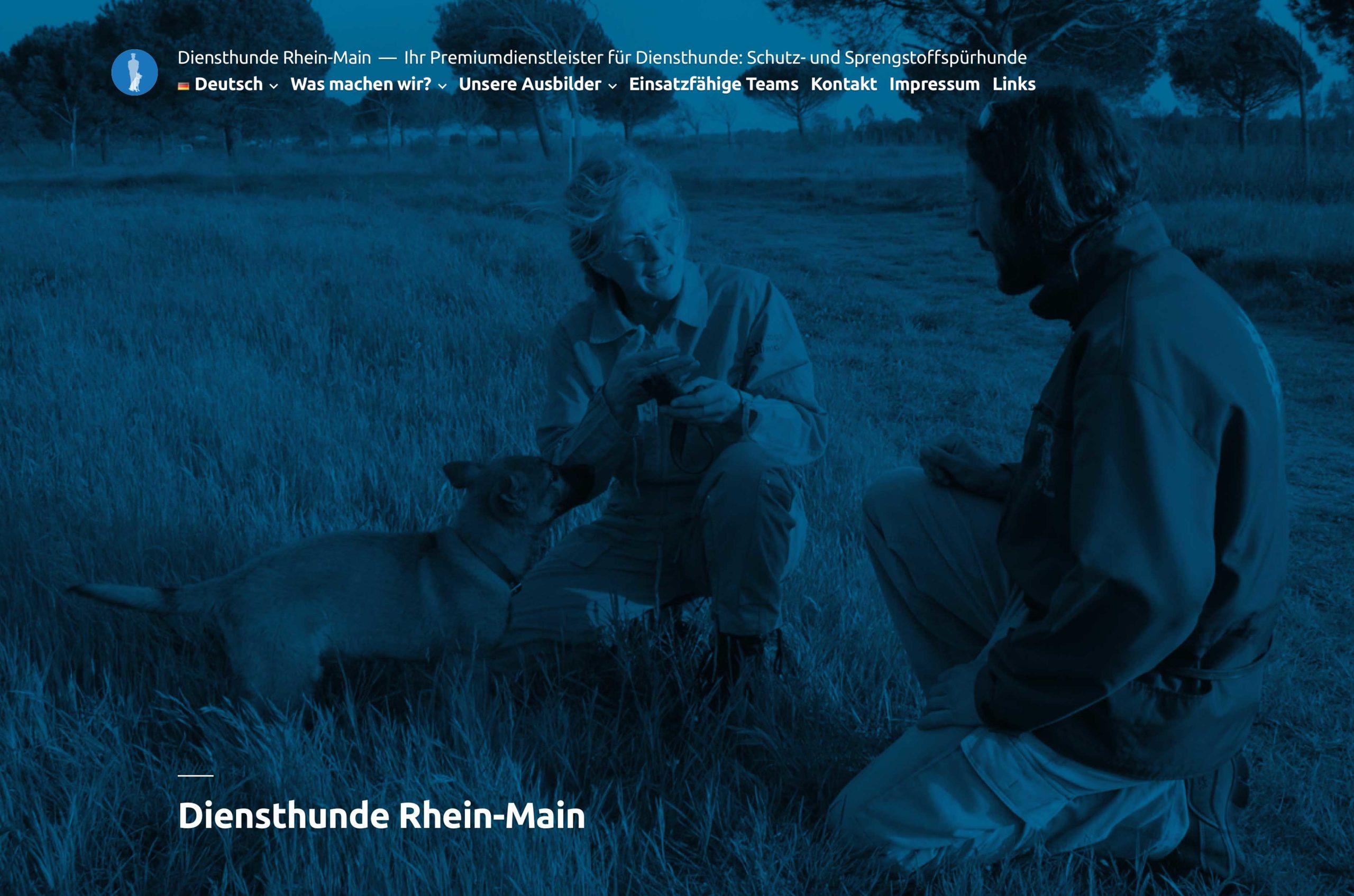diensthunde rhein-main screenshot